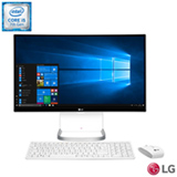 Computador All-In-One LG, Intel Core i5 - 7200U, 8GB, 1TB, Tela 23,8 e Intel HD Graphics 500 - 24V575-G.BH33P1
