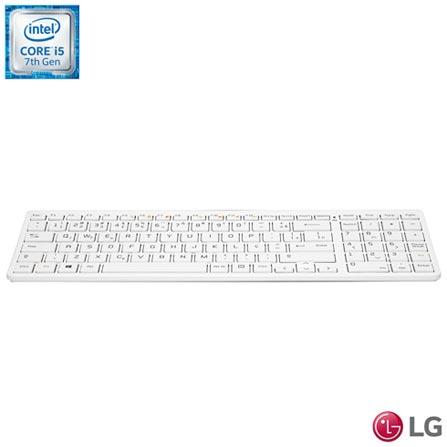 Computador All-In-One LG, Intel Core i5 - 7200U, 8GB, 1TB, Tela 23,8 e Intel HD Graphics 500 - 24V575-G.BH33P1, 0000023.80, Não, Sim, 1 TB, 000008, Não, 1, 12 meses, 1 TB, LG, INTEL, 8 GB, S, 7200U, Sim, CORE I5, Intel Core i5, WINDOWS 10 HOME, Windows 10 Home, 23.8'', Acima de 22'', 0000023.80, LCD, N/A, Não, Não