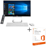 All-In-One LG, Intel Core i5, 4 GB, 1 TB, 23,8 - 24V550-G.BJ33P1 + Microsoft Office 365 Personal