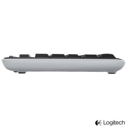 Teclado Wireless Logitech K270 Preto e Cinza - 920004427, Periféricos, 36 meses