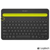 Teclado Bluetooth Multi-Device para Computadores, Tablets e Smartphones - Logitech - K480