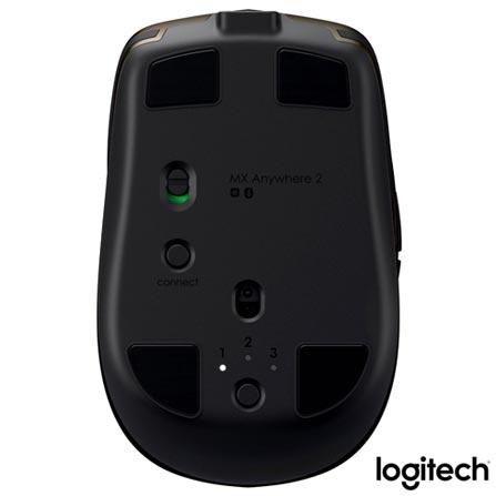 Mouse sem Fio Logitech MX Anywhere 2 Preto - 910-004373, Preto, Periféricos, 12 meses