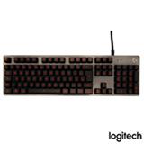 Teclado para Jogos para Windows com Multimídia e USB Preto - Logitech G - G413