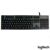 Teclado para Jogos Mecânico RGB para Windows com Multimídia e USB Preto - Logitech G - G512