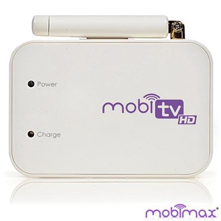 Receptor Mobi TV HD para Smartphones e Tablets Androids e iOS Branco - Mobimax - MOBITVHD-WH, Branco, Adaptadores, 03 meses