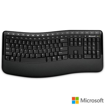 Teclado e Mouse sem fio Comfort 5000 Microsoft, Periféricos