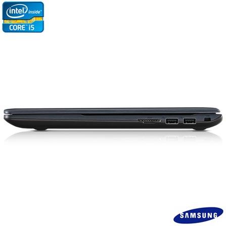 Notebook Samsung Ativ Book 4 Preto com Intel Core i5, 4 GB, 500 GB de HD e Windows 8 + McAfee LiveSafe, 0