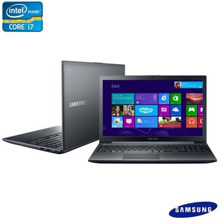Notebook Samsung Ativ Book com Intel Core i7, 8GB, 1TB, Bluetooth e Windows 8 + Software de Segurança McAfee LiveSafe, 0