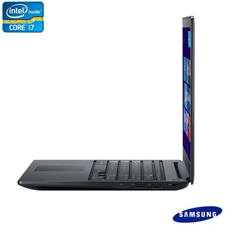 Notebook Samsung Ativ Book com Intel Core i7, 8GB, 1TB, Bluetooth e Windows 8 + Software de Segurança McAfee LiveSafe, 0