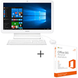 All In One Samsung, i5, 8GB, 1TB, 21.5, E5 TV - DP500A2L-KW4BR + Microsoft Office 365 Personal com 01 ano