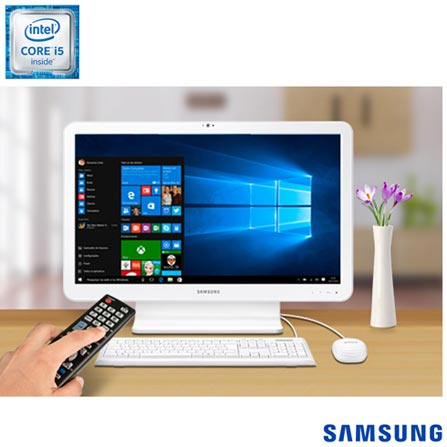 "All In One Samsung, Intel® Core™ i5, 8GB, 1TB, Tela de 21.5"", E5 TV - DP500A2L-KW4BR, 0000021.50, Não, Sim, 1 TB, 000008, Não, 1, 12 meses, 1 TB, Samsung, INTEL, 8 GB, S, 6200U, Sim, Core i5, Intel Core i5, WINDOWS 10, Windows 10, 21.5'', De 20'' a 22'', 0000021.50, LED, N/D, Não, Não"