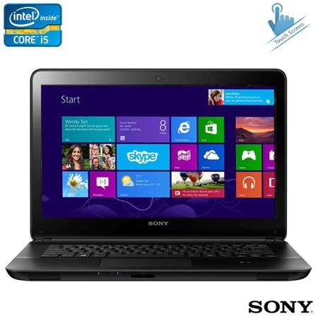 Notebook Sony VAIO Série E, i5, 6GB, 1TB de HD + Software de Segurança McAfee LiveSafe - MLS13B001RAA, 0