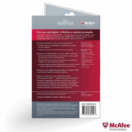 Notebook Sony VAIO Fit, Intel Core i7, 6GB, 750GB + Software de Segurança McAfee LiveSafe - MLS13B001RAA, 0