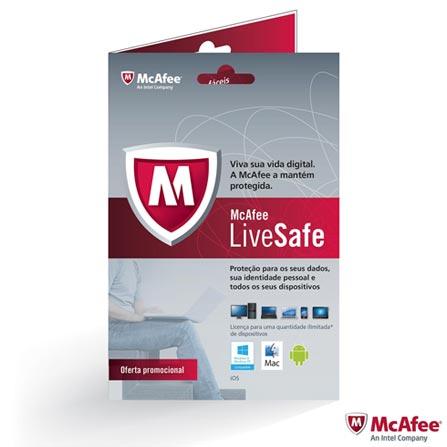 Notebook Sony VAIO Fit 15, i5, 4GB, 750GB de HD +Software de Segurança McAfee LiveSafe - MLS13B001RAA, 0