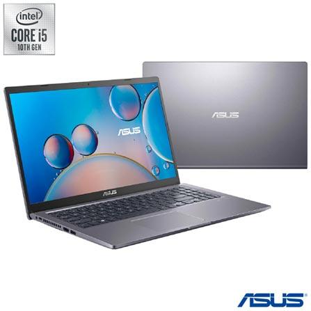 "Notebook - Asus X515ja-ej1045t I5-1035g1 1.00ghz 8gb 512gb Ssd Intel Hd Graphics 620 Windows 10 Home 15,6"" Polegadas"