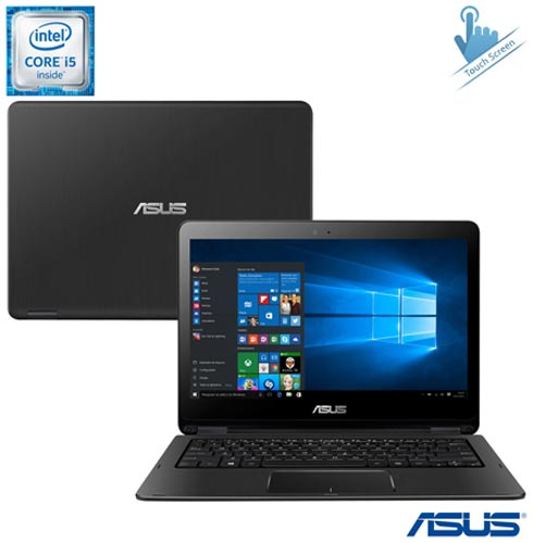 Notebook 2 em 1 Asus, Intel Core i5, 6GB, 1TB, Tela de 13,3 Touch  - TP301UA-DW230T + Microsoft Office 365 Personal, 1, Core i5 de até 13,9''