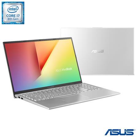 "Notebook - Asus X512fj-ej529t I7-8565u 1.80ghz 16gb 512gb Ssd Geforce Mx230 Windows 10 Home Vivobook 15,6"" Polegadas"