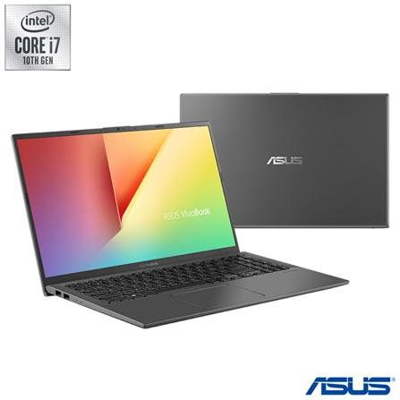 "Notebook - Asus X512fj-ej571t I7-10510u 1.80ghz 8gb 256gb Híbrido Geforce Mx230 Windows 10 Home Vivobook 15,6"" Polegadas"