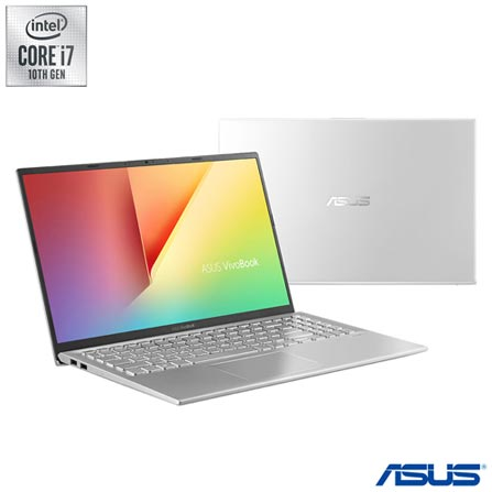 Notebook - Asus X512fj-ej570t I7-10510u 1.80ghz 8gb 256gb Híbrido Geforce Mx230 Windows 10 Home Vivobook 15,6