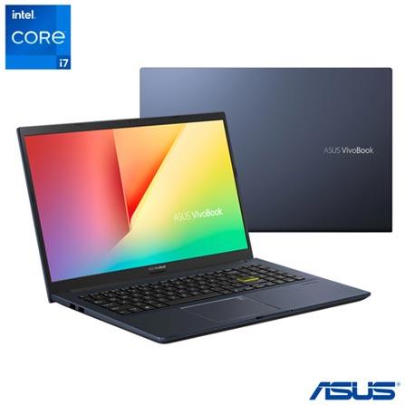 "Notebook - Asus X513ep-ej231t I7-1165g7 2.80ghz 8gb 512gb Ssd Geforce Mx330 Windows 10 Home 15,6"" Polegadas"