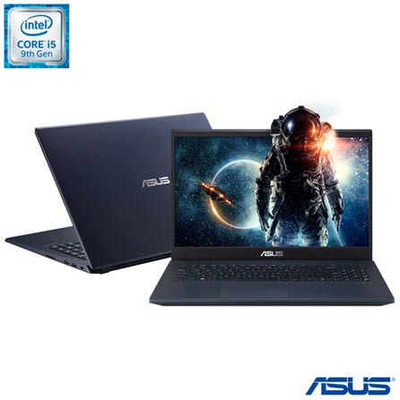 "Notebook - Asus X571gt-al888t I5-9300h 2.40ghz 16gb 256gb Ssd Geforce Gtx 1650 Windows 10 Home 15,6"" Polegadas"