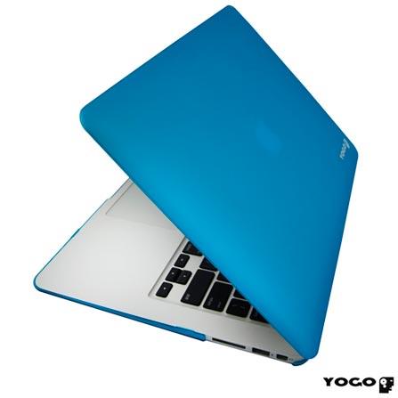 Capa Rigida Protetora para Macbook Air 11'' Azul Yogo 11AIRBLUE, Azul, 06 meses
