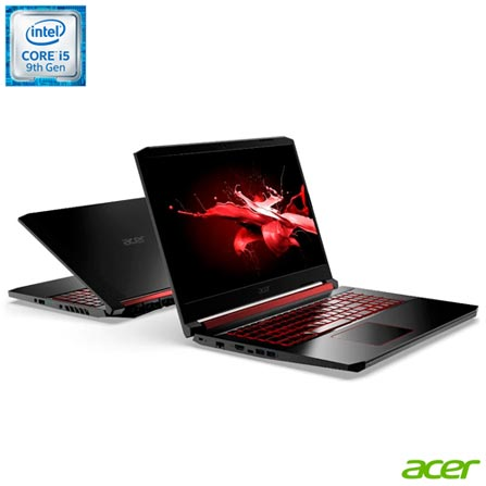 "Notebookgamer - Acer An515-54-528v I5-9300h 2.30ghz 8gb 128gb Híbrido Geforce Gtx 1650 Windows 10 Home Nitro 5 15,6"" Polegadas"