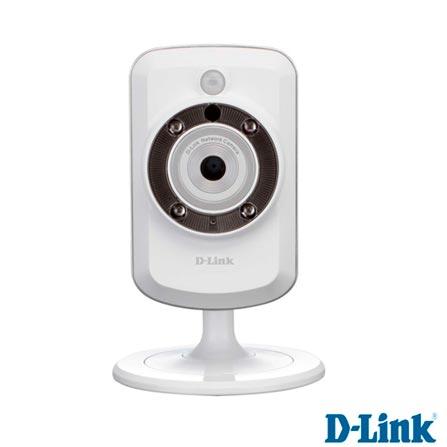 Câmera IP D-Link Wireless H.264 com Visão Noturna - DCS-942L, Bivolt, Bivolt, Branco, 12 meses