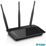 Roteador e Repetidor D-Link AC 750 Mbps Dualband com 3 Antenas Externas 5dBi -  DIR-809