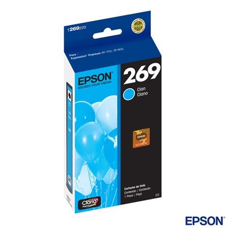 Cartucho Epson Claria® para XP-702/XP-802 Ciano - T269220, Cartuchos, Ciano, 03 meses