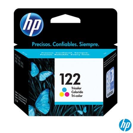 Cartucho de Tinta HP 122 Tricolor - CH562HB, Cartuchos