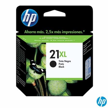 Cartucho de Tinta HP 21XL Preto - Alto Rendimento, Cartuchos