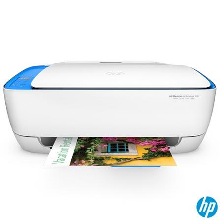 Impressora Multifuncional Deskjet Ink Advantage 3636 All-in-One Jato de Tinta com USB e Wireless - HP, Bivolt, Bivolt, Branco, USB 2.0, Colorida, Sim, Não, Sim, Sim, Não, 12 meses, Jato de Tinta, LCD, 8,5 ppm, Sim