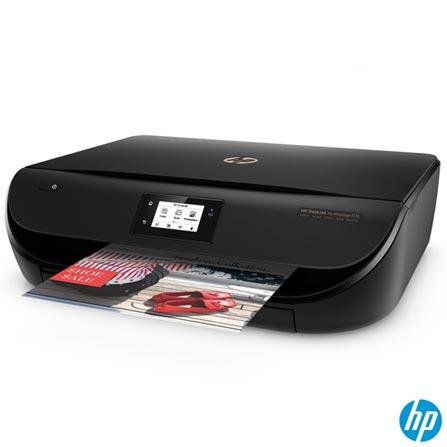 Impressora Multifuncional DeskJet Ink Advantage 4536 Jato de Tinta com USB e Wi-Fi - HP, Bivolt, Bivolt, USB 2.0 e Wireless, Colorida, Sim, Não, Sim, Sim, Não, 12 meses, Jato de Tinta, LCD, 20 ppm, Sim