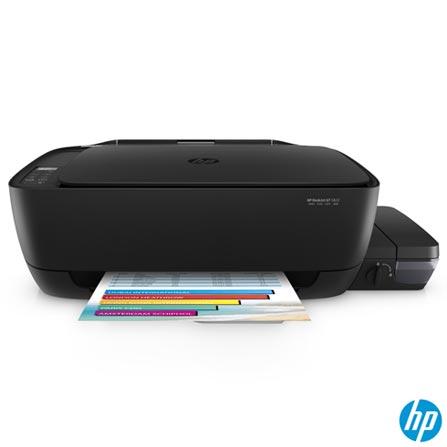 Impressora Multifuncional Deskjet GT 5822 AIO Tanque de Tinta com USB e Wireless - HP, Bivolt, Bivolt, Preto, Colorida, Jato de Tinta, 8 ppm, 12 meses