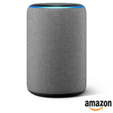 Smart Speaker Amazon com Alexa Cinza -  ECHO