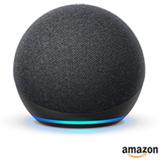 Echo Dot (4ª geração) Smart Speaker Amazon com Alexa Preta
