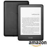 """E-reader Amazon Kindle 10ª Geração com 6"""", 8GB com Iluminação, Preto"""