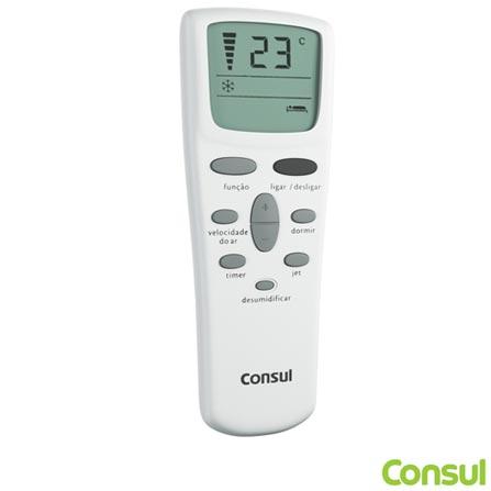 Ar Condicionado de Janela 7.500 BTUs Consul Ciclo Quente e Frio com Controle Remoto Branco - CCO07DB, 220V, Branco, Janela, Quente e Frio, 5.000 a 8.500 BTUs, 7.500 BTUs, Sim, Sim, 420 m³/min, 60 Hz, Não especificado, Sim, Sim, Sim, Sim, Sim, A, 748 W, 15,7 kWh/mês, 12 meses