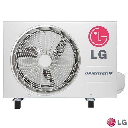 Ar Condicionado LG Split System, 18.000 Btu/h, Frio  Branco, 12.000 a 18.500 BTUs, A, 18.000 BTUs, Frio, 33,6 kWh/mês, Sim, Sim, Sim, Sim, 12 meses, Não especificado, 1600 W, Sim, Sim, Sim, 17,8 m³/min