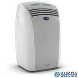Ar Condicionado Portátil Piu Olimpia Splendid com 12.000 BTUs, Quente e Frio, Função Turbo, Branco e Cinza - PIUQFBR