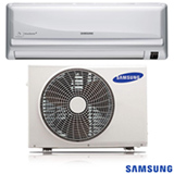Ar Condicionado Split 12.000 BTUs Samsung Quente e Frio com Turbo Mode Max Plus Branco - AR12JPSUAWQN