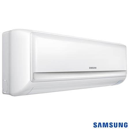 Ar Condicionado Split Samsung com 12.000 BTUs, Frio, Ar Max Plus Branco - AR12KCFUAWQXAZ, Split, Frio, 12.000 BTUs, Sim, Sim, 600 m³/min, 38 dBA / 21 dBA, Sim, Sim, Não especificado, Sim, Sim, 1095 W, 23,0 kWh/mês, Sim, 12 meses, 12.000 a 18.500 BTUs, A