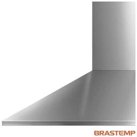 Coifa de Parede de 60 cm Brastemp com 03 Velocidades Piramidal - BAI60BR, 110V, 220V, Inox, Parede, 04 bocas, Sim, Sim, Não especificado, Manual, Sim, Não, Sim, 70 dBA, Não, 60 cm, Inox, 03 Velocidades, 110V - 256 W e 220V - 265 W, Não especificado, Não especificado, Não especificado, 12 meses