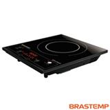 Cooktop por Indução de 1 Boca Brastemp com Acendimento Eletrônico, 6 Níveis de Potência, Painel Touch Gourmand - BDJ30AE