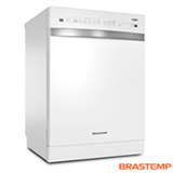 Lava-Louças Brastemp Branca com 14 Serviços, 06 Programas de Lavagem e Função Smart Sensor - BLF14AB