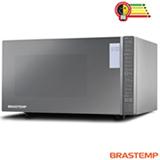 Micro-ondas de Mesa Brastemp com 32 Litros de Capacidade e Grill Espelhado - BMG45AR