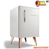 Frigobar Brastemp Retrô com 76 Litros de Capacidade e Controle Automático de Temperatura Ice White - BRA08BB