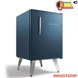 Frigobar Brastemp Retrô 76 Litros Capacidade e Controle Automático de Temperatura Midnight Blue - BRA08BZ