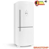 Refrigerador Inverse de 02 Portas Frost Free Brastemp Ative Smart Bar com 422 Litros Branco - BRE50NB